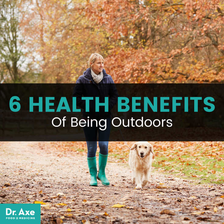 6 Health Benefits of Being Outdoors